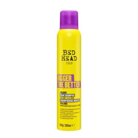 tigi Bed Head Bigger The Better Shampoo Foam 200ml - champú voluminizador en espuma