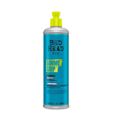 Tigi Bed Head Gimme Grip Shampoo 400ml - champú texturizante para cabello sin vida