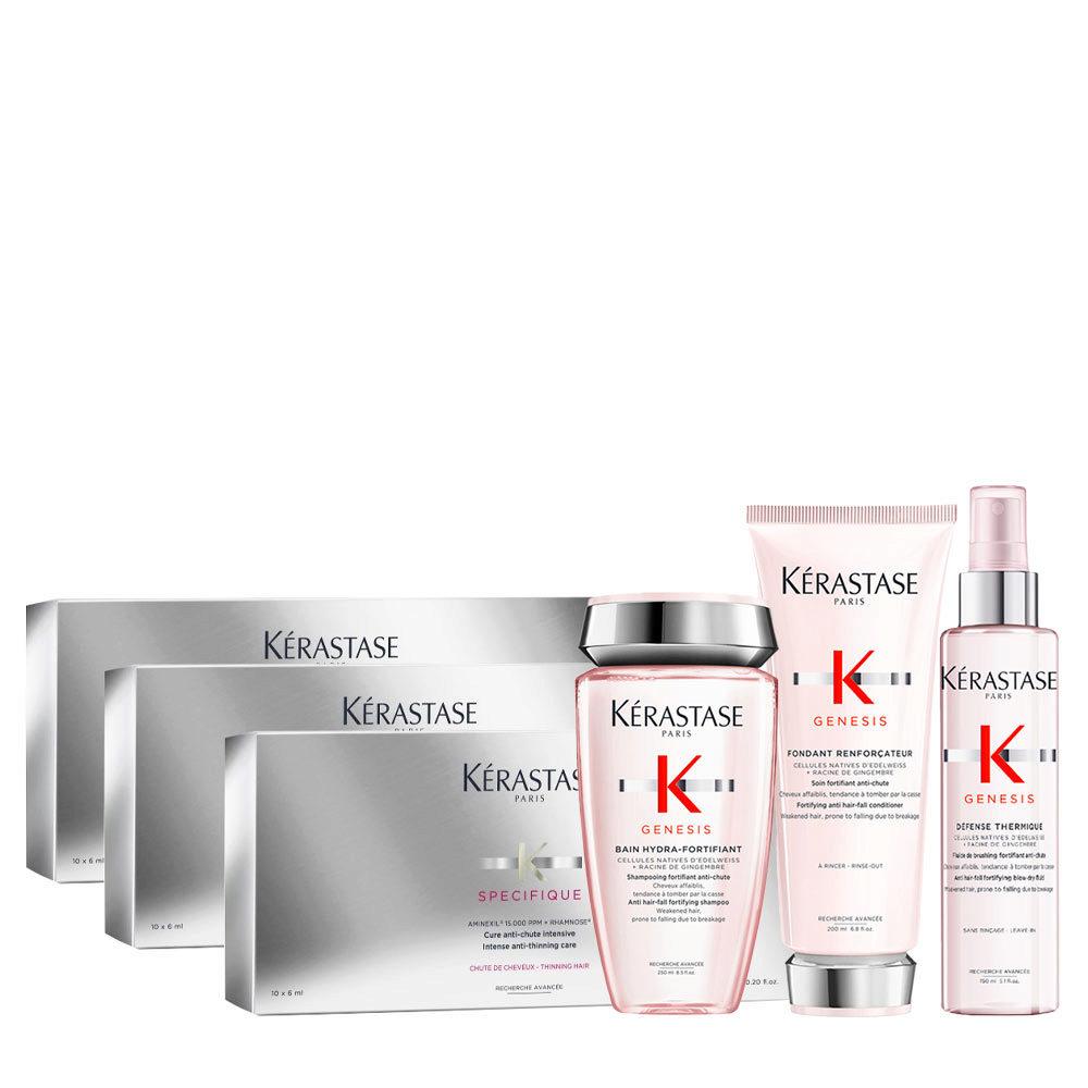 Kerastase Genesis Ritual De Hidratación Y Protección Suave + Specifique Cure anti chute intensive 30x6ml
