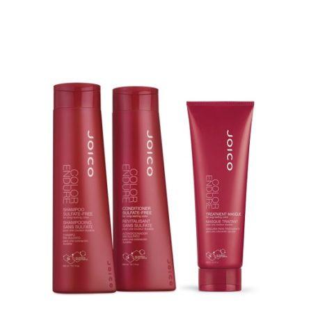 Joico Color endure Kit1 Shampoo 300ml Conditioner 300ml Treatment masque 250ml